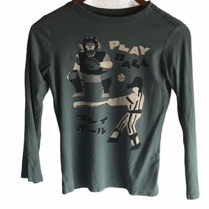Kid's Tea Collection Baseball Long Sleeve T-shirt